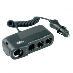 Image for Quad MultiSocket with Battery Analyser & Lighter Socket