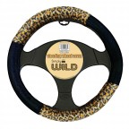 Image for Steering Wheel Cover - Leopard Print