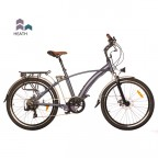 "Image for Juicy Sport Click Hybrid E-Bike - Heath Purple - 26"" Wheels"
