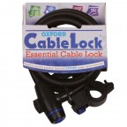 Image for Oxford Cable Lock 12mm - Smoke