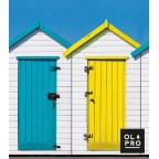 Image for Windbreak Beach Huts 4 Pole Compact (Steel poles)