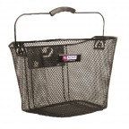 Image for Front Mesh Cycle Basket - Black