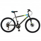 "Image for Hardtail Mountain Bike - Gunmetal Grey - 27.5"" Wheels"