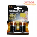 Image for Duracell Batteries - C Size (LR14) - 1.5V Alkaline - Pack of 2