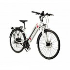 "Image for Oxygen S-Cross ST Electric Commuter Bike - White - 17""/700C/13A"