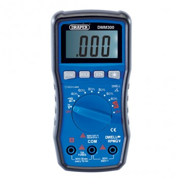 Image for Draper - Digital Auto Multimeter