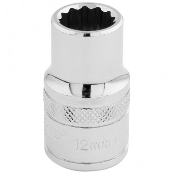 Image for 12mm 12 Point Socket 1/2 Drive