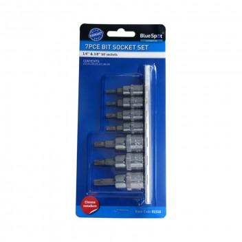 "Image for Blue Spot 7pce 1/4"" Torx Sockets"