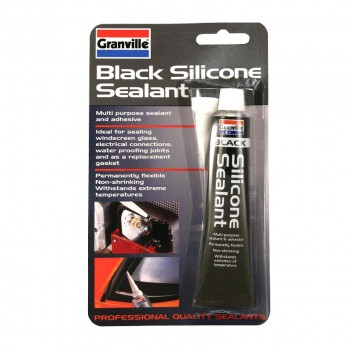Image for Black Silicone Sealant