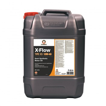 Image for X Flow Type XS 10W40 Semi Synthetic Motor Oil - 20 Litres