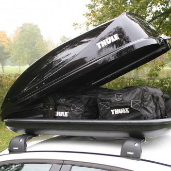 Thule Ocean 80 Roof Box 320 Litre Black Wilco Direct