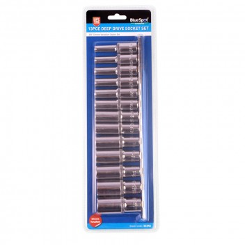 Image for 3/8 Deep Sockets - 13 Piece Metric Set