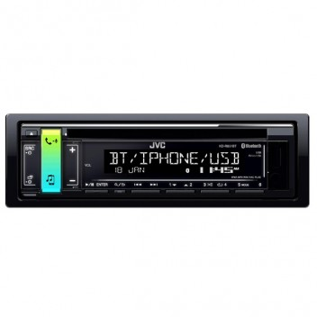 Image for JVC KD-R891BT Single Din Stereo - Bluetooth/Apple/Android/USB