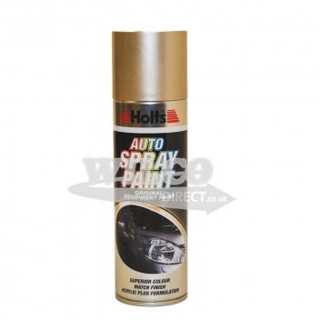 Image for Holts Gold Beige Metallic Spray Paint 300ml (HBEM02)
