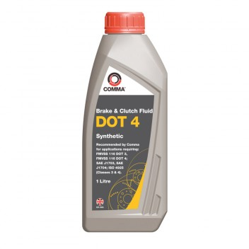Image for Comma DOT 4 Synthetic Brake Fluid - 1 Litre