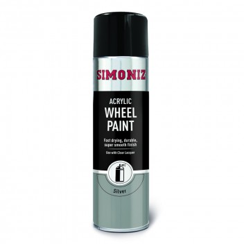 Image for Simoniz Silver Wheel Spray Paint 500ml