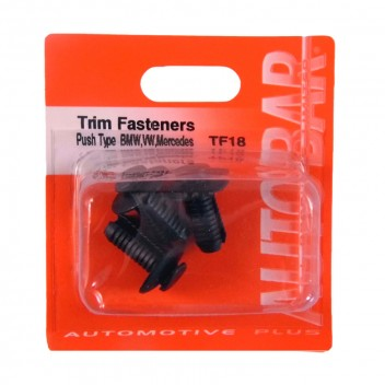 Image for Trim Fasteners Push Type Retainer (BMW, VW, Mercedes)