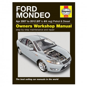 Image for Ford Mondeo Manual 07-61