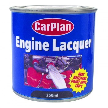 Image for Tetrosyl Engine Lacquer - Matt Black - 250ml Tin