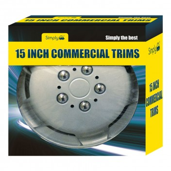 "Image for 15"" Wheel Trims - Deep Dish for Commercial Vehicles - Set of 4"