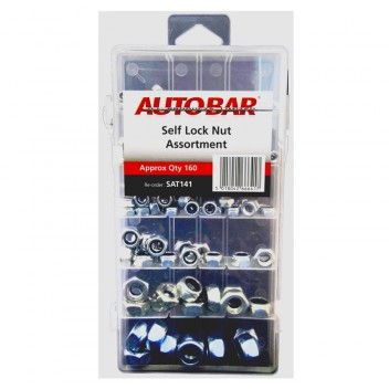Image for Assorted Self Lock nuts - Pack 160