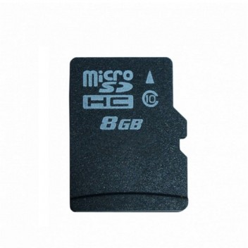 Image for 8GB Class 10 Micro SD Card with Adaptor