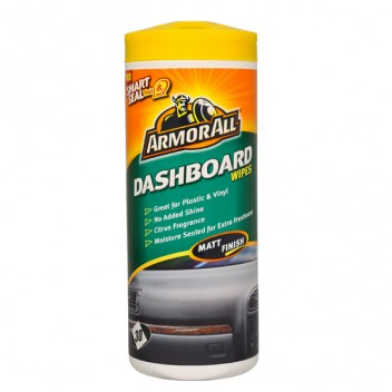 Image for Armor All Dashboard Wipes (Matt) - Tub of 25