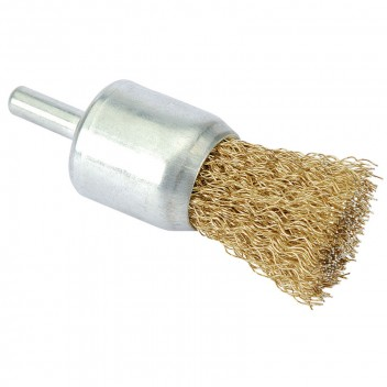 Image for 13mm Flat Top Wire Decarbonizing Brush