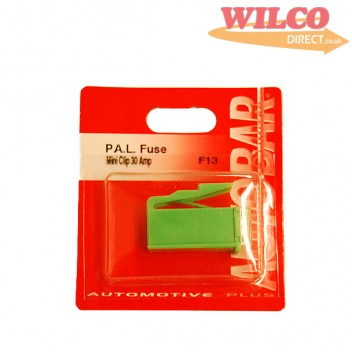 Image for Mini Pal Fuse Clip Type 30 Amp - Green