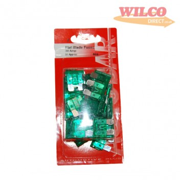 Image for Flat Blade Fuses 30 Amp - Pack 30