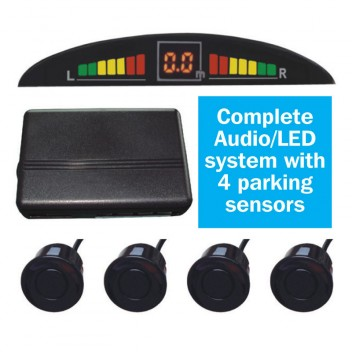 Image for Reverse Parking Sensor Kit with Audio Warning