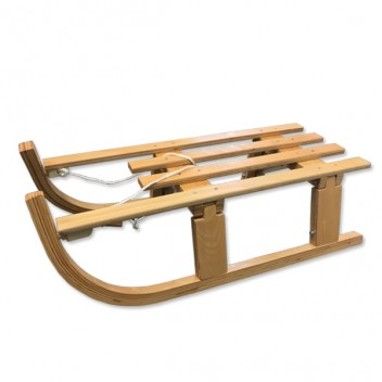 Image for Coyote Foldable Wooden Snow Sledge - 80cm