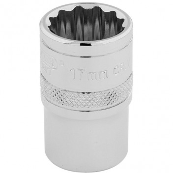 "Image for 17mm 12 Point Socket 1/2"" Drive"