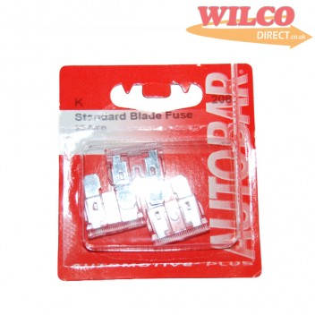 Image for Flat Blade Fuses 25 Amp - Pack 3