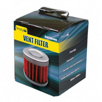 Image for Stainless Steel Air Vent Filter - 12mm