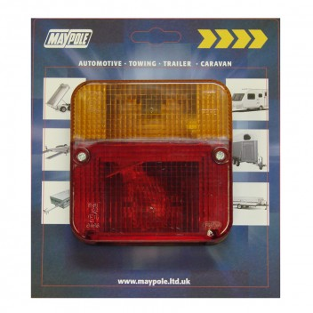 Image for 4 Function Rear Trailer Lamp - Square