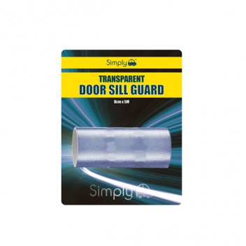 Image for Transparent Door Sill Guard - 8cm x 5m