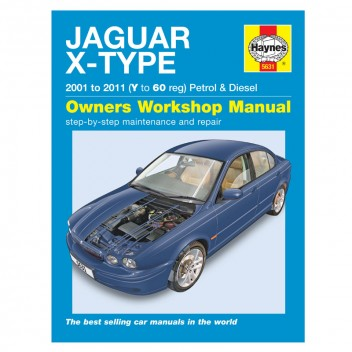 Image for Jaguar X Type Petrol & Diesel 01-10 Haynes Manual