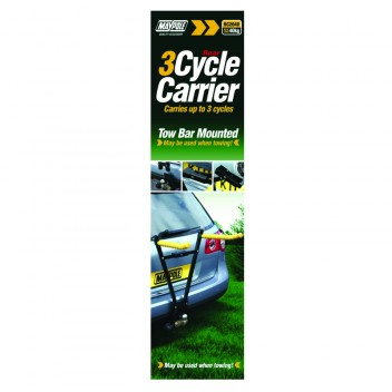 Image for Tow Bar Mounted Cycle Carrier - 3 Cycles
