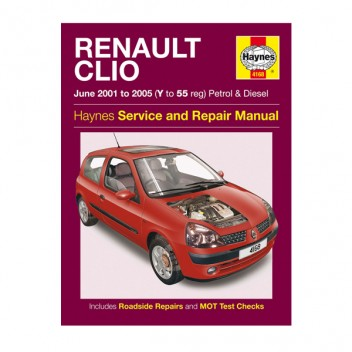 Image for Renault Clio - Haynes Manual