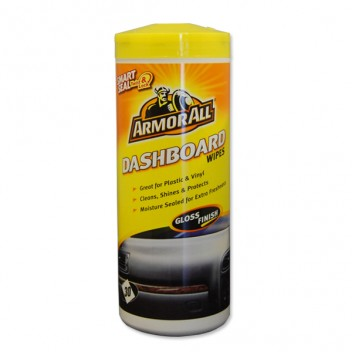 Image for Armor All Dashboard Wipes (Gloss) - Tub of 25