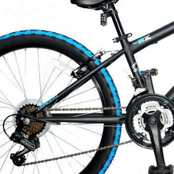 "Image for Concept Riptide Mountain Bike - Matt Blue and Black - 13"" Frame"