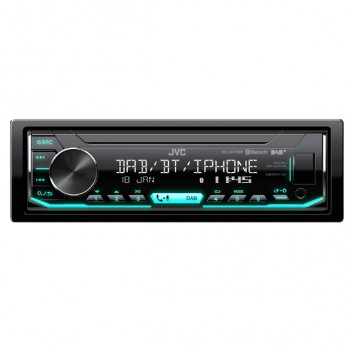 Image for JVC KD-X451DBT Single Din Stereo -  DAB/Bluetooth/Apple/Android