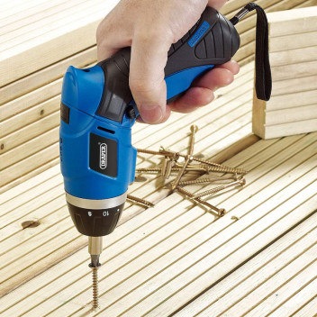 Image for Draper Li-ion 3.6V Cordless Screwdriver Kit