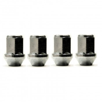 Image for Wheel Nuts Silver 12x1.5mm Pack 4 NS204B-4
