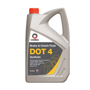Image for Comma DOT 4 Synthetic Brake Fluid - 5 Litre