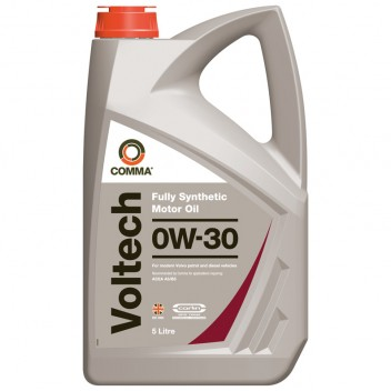 Image for Comma Voltech 0W-30 5 Litres