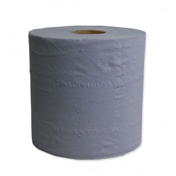 Image for Blue Centrefeed Paper Roll