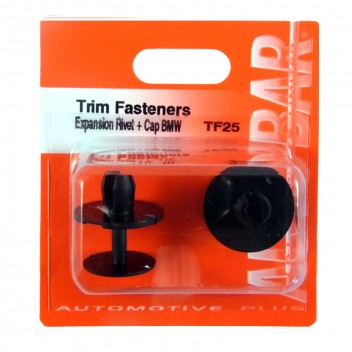 Image for Trim Fasteners Expansion Rivet with Cap (BMW)