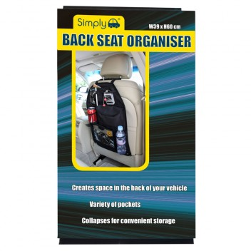 Image for Back Seat Organiser - Black